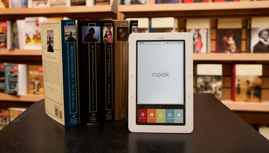 nook_next to paperbacks